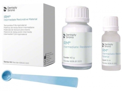 Dentsply IRM Cement - прах 40г + течност 15 мл